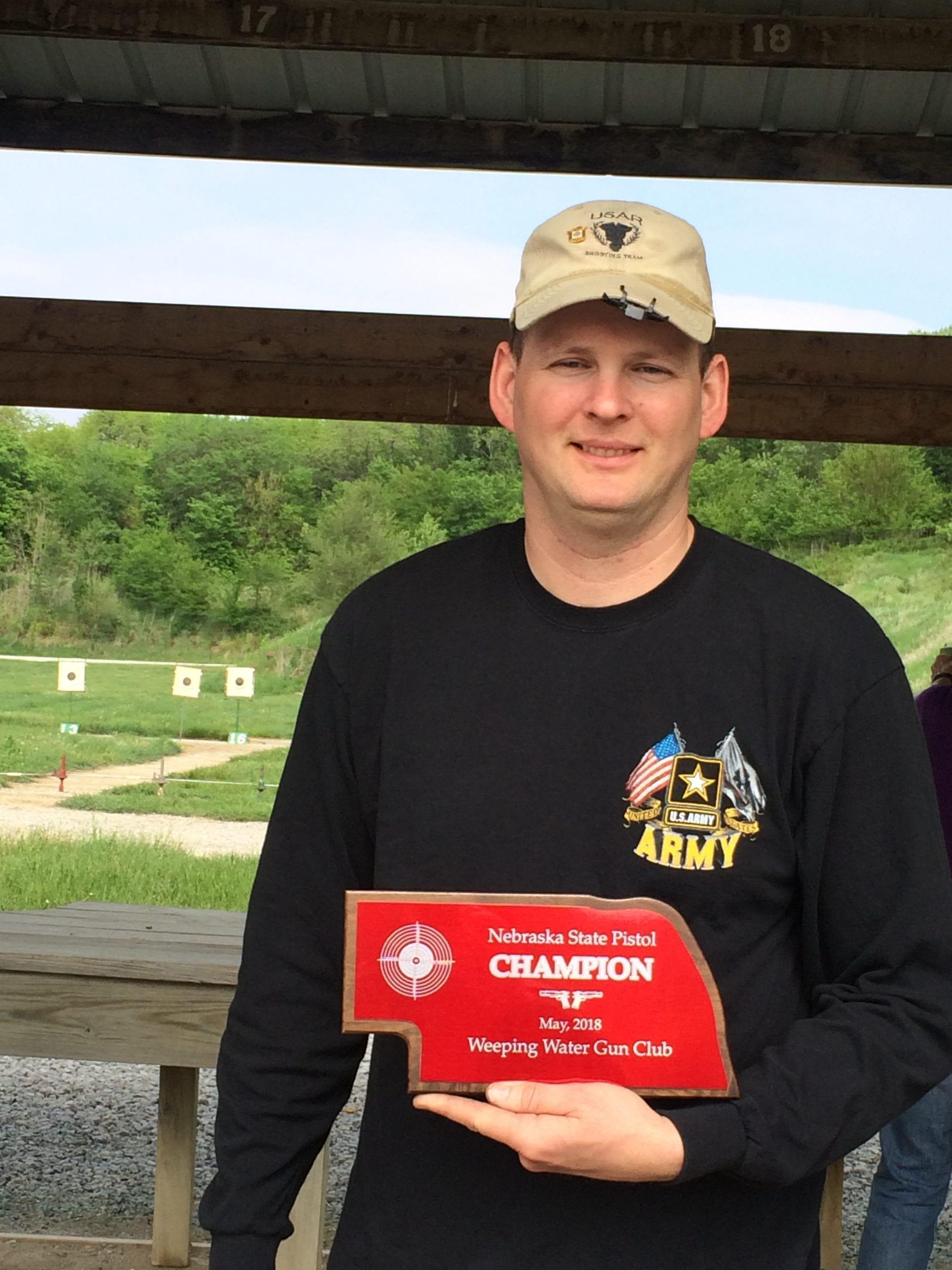State Pistol Champion Jon Rosemead
