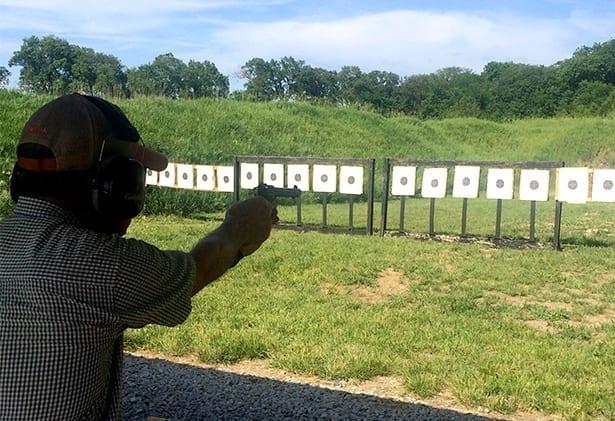shooting 2 targets